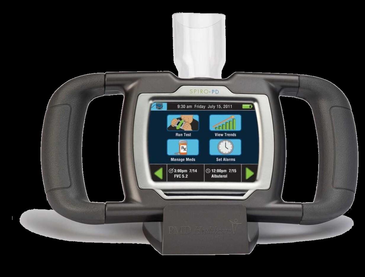 Lynn Spirometer (Transparent)